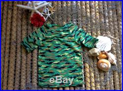 18 months green camouflage rash guard baby top, toddler, swimwear tops, kids clothes