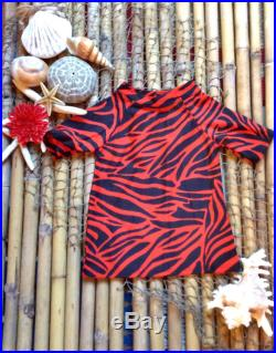 18 months red and black zebra print rash guard toddler, swimwear tops, kids clothes