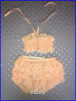 1970's Vintage Two Piece Bathing Suit for Baby Girl