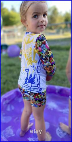 3t-6y grow with me swim outfit