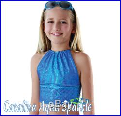 ALL COLORS Child Tankini Swim Top to match your 2Tails Mermaid Tail