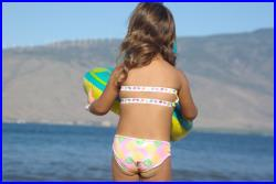 AQUATA Reversible Baby Bikini BOTTOMS create your own kids swimsuit by Peace of Paradise Creations