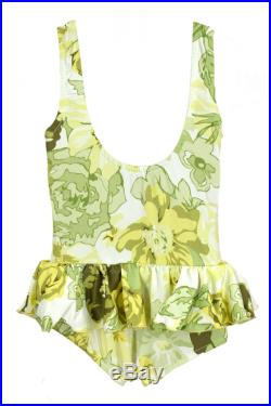 Baby one piece. Comes in Pink or yellow vintage lycra print