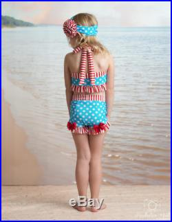 Bathing Beauty Swimsuit in Anchors Away SS17 Collection (Size 2-12)