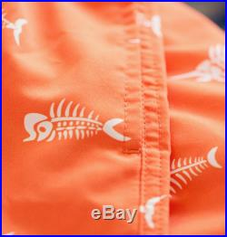 Big Fisch Boys Orange Red Fish Swimming Board Beach Shorts Trunks Age 2 7 Years