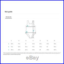 Black and White Abstract Chevron Youth Swimsuit One-Piece Swimsuit Black Geometric Design Bathing Suit Beach Wear