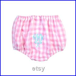Boy or Girl Swim Diaper Covers, Monogrammed Diaper covers, New Baby Diaper Bloomer cover, New Baby personalized Gift, 4th of July swim