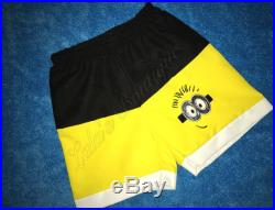Boy's Swim Trunks, Board Shorts, Silly Yellow Guy, Bathing Suit, Infant, Toddler, Boys