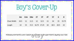 Boys Beach Cover Up, Personalized Swim Suit Cover Up, Full Zip Hooded Terry Beach Cover Up