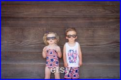 Brother and Sister matching swimsuits, 4th of july matching outfits, american swimsuits