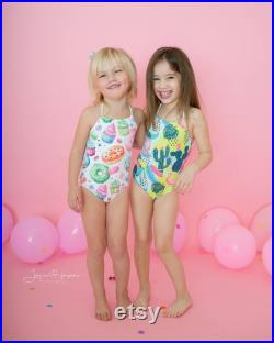 Brother and Sister matching swimsuits, pool party matching outfits, siblings matching swimsuits, tropical print swimsuits