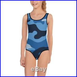 Camouflage Army Camo Toddler Swimsuit Girls Swimwear Gymnastics Leotard Bathing Suit Body Suit One Piece Swimsuit Mommy and Me Dance Costume