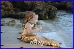 Celebrate the 30th anniversary of The Little Mermaid . Great for first photos. Order today and ship tomorrow.