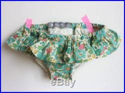 Child's swimsuit in doubled cotton liberty.
