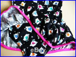 Clearance-one piece girl's swimsuit-Size 4, 6. The size runs small, please order at least 2 size up