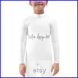 Custom Rash Guard Design Your Own 80,000 art illustrations 100 fonts 100 Made in USA