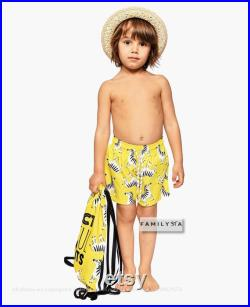 Daddy And Me Outfit, Father And Son Matching Swimsuits, Men Briefs, Men Trunks, Zebra Swimsuit, Yellow Shorts, Dad Gift, Matching Shorts