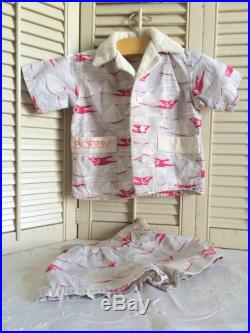 Darling Vintage Boy's Swimsuit Trunks and Jacket