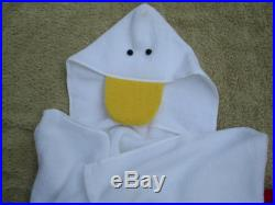 Duck Personalized Towel with Hood for Bath, Pool, Beach