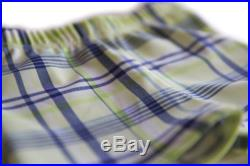 Euro Style Swim Trunks Yellow and Navy Plaid Swim Trunks Jammers Swimsuits Boy's Trunks