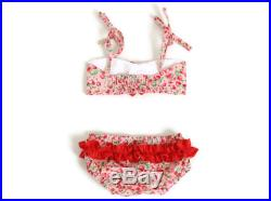 FREE SHIPPING WORLDWIDE Baby bikini Red strawberry Girls Baby Swimsuit Bathing Suits 6m 12m 18m 24m 3T 4T 5T 6T Baby bathers Toddler