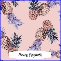 Family Matching In Dancing Pineapples Tropical Swimwear Swimsuit Bathing Suit Trunks, Family gift