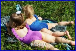 Family look swimsuit for baby girl sisters, beach wear, swimsuit for infant with ruffle