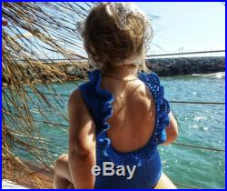 Family look swimsuit for baby sisters crochet, swimsuit for infant, beach wear for kids