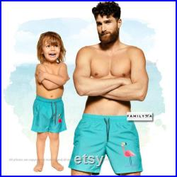 Father Son Matching Swimsuit, Matching Dad And Son Swimsuit, Matching Shorts, Matching Daddy And Me Swimwear, Father Son Matching Trunks