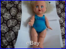 Galoob Baby Face Doll Turquoise Bathing Suit