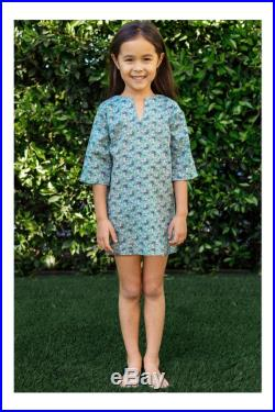 Girls' Classic Tunic Cover Up in Garden Bouquet