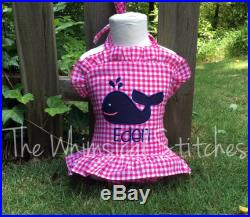Girls Swimsuit, Boys swimsuit, Personalized Swimsuit, Monogrammed Swimsuit, whale swimsuit, bathing suit
