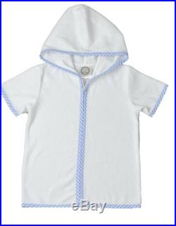 Hooded Terry Cloth Bathing Suit Cover Up