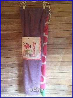 Just Keep Swimming Towel Pants Personalized for Kids or Teens