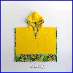 Kid's Beach Poncho with Hoodie, Hooded Poncho, Kid's Beach Towel, Kid's Hooded Towel, Kid's Beach Cover Up, Kid's Beachwear, Kid's Beachwrap