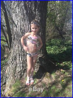 Knot Your Average Swim Suit for Infants, Toddlers, Girls, camo, bandana, paisley