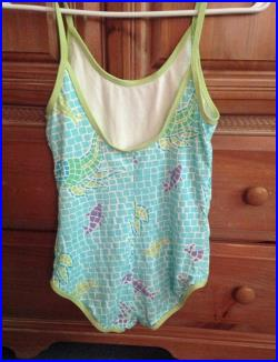 Lilly Pulitzer for Girls Turquoise Mosaic Swimsuit