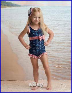 Margaret Swimsuit in Anchors Away SS17 Collection (Size 12 18 month-12)