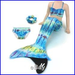 Mermaid Costume by Uramermaid Hanna's Barbados Green Tail With Optional Extras Olympic Monofin Kids Teen Fun Swimsuit Girls Gift Swim Fin