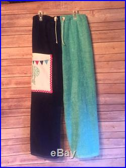 Mermaid Themed Towel Pants for Kids or Teens Personalized