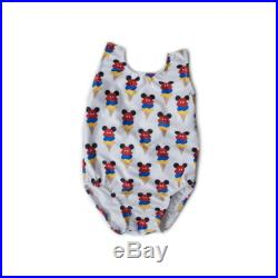 Mickey Mouse Ice Cream Cones One Piece Swimsuit Disney Mickey Mouse