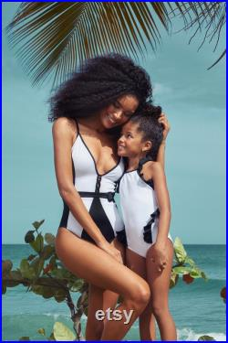 Mommy and me Swimsuits, One Piece Swimwear Mother and Daughter, Matching Swimsuits, Mother Daughter Matching Swimwear, Girl swimsuit