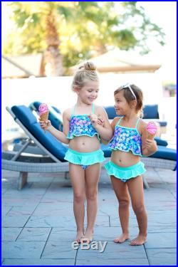 Monogrammed Swimsuit, Personalized Bathing Suits, Kid's Swimwear, Monogram Girls Swimsuit, Custom Swimming Suit, Flower Girl Gifts
