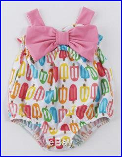 Mudpie Popsicle Swimsuit, Infant, Toddler, 2016