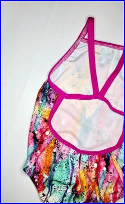 Multi-Coloured Racing Bathers Togs Swimmers
