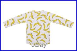 New bananas kids rash vest UPF 50 protection