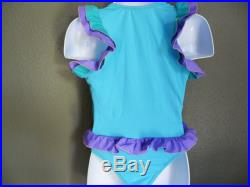 ON SALE-one piece girl's swimsuit-Size 12mos,18mos,2T,3T,4T The size runs small, please order at least 2 size up