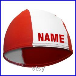 Original Fashy children's swimming cap with name printed bath hood swimming cap swimming swimming school child water sports easy does not pull
