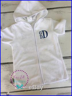 Personalized Toddler or Boy Bathing Suit Cover up Bathing Suit Cover ups Monogrammed Cover Up Boys Swim Cover up Shark Bathing Suit