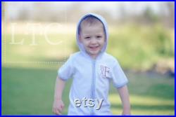 Personalized Toddler or Boy Bathing Suit Cover up Bathing Suit Cover ups Monogrammed Cover Up Boys Swim Cover up Swim Cover Up